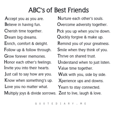 Abc S Of Best Friends Friends Quotes Tagalog Love Quotes Bff Quotes