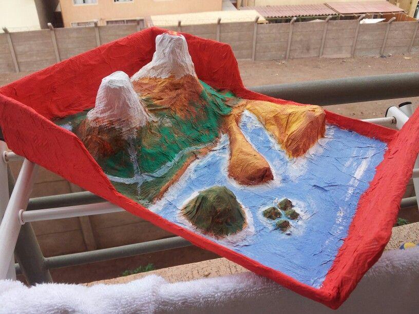 Maqueta De Los Accidentes Geográficos Cool Stuff Diorama