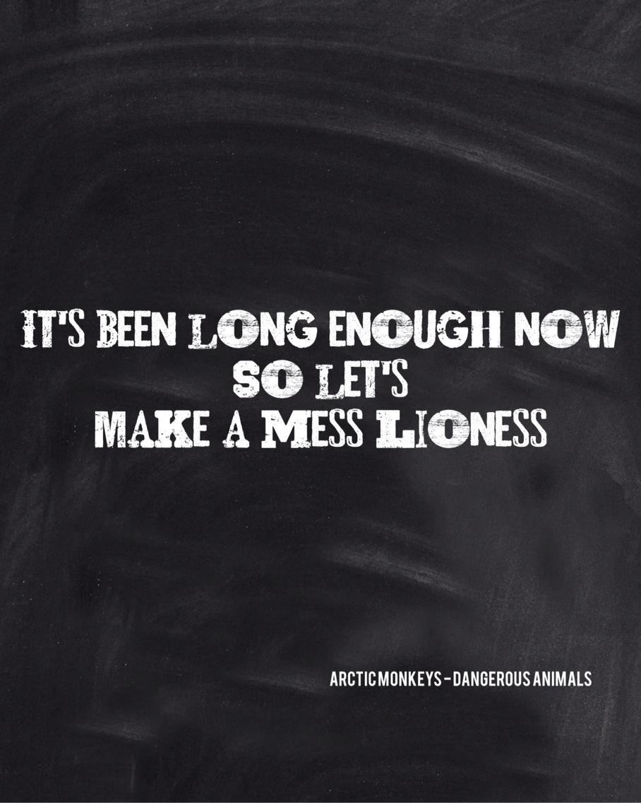 Arctic Monkeys Lyrics (With images) Arctic monkeys