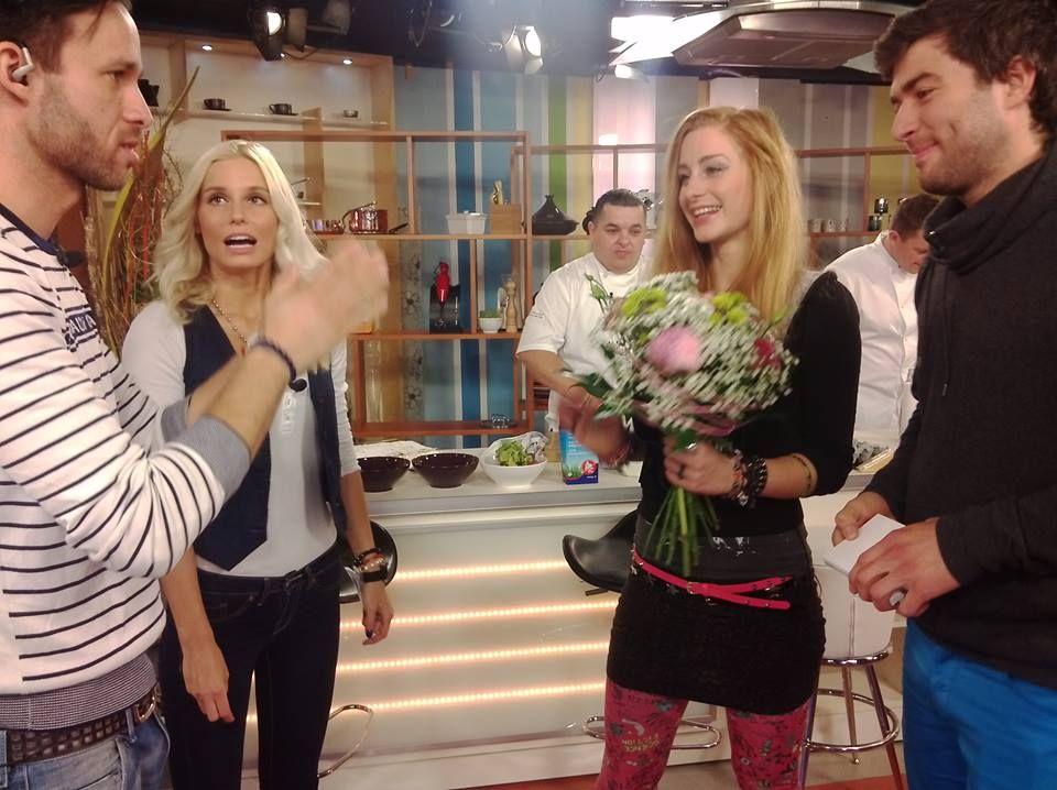 V utorok ste si vďaka Teleránu mohli chatovať s finalistami SuperStar: Števom Pčelárom a absolútnou víťazkou Sabínou Křovákovou.