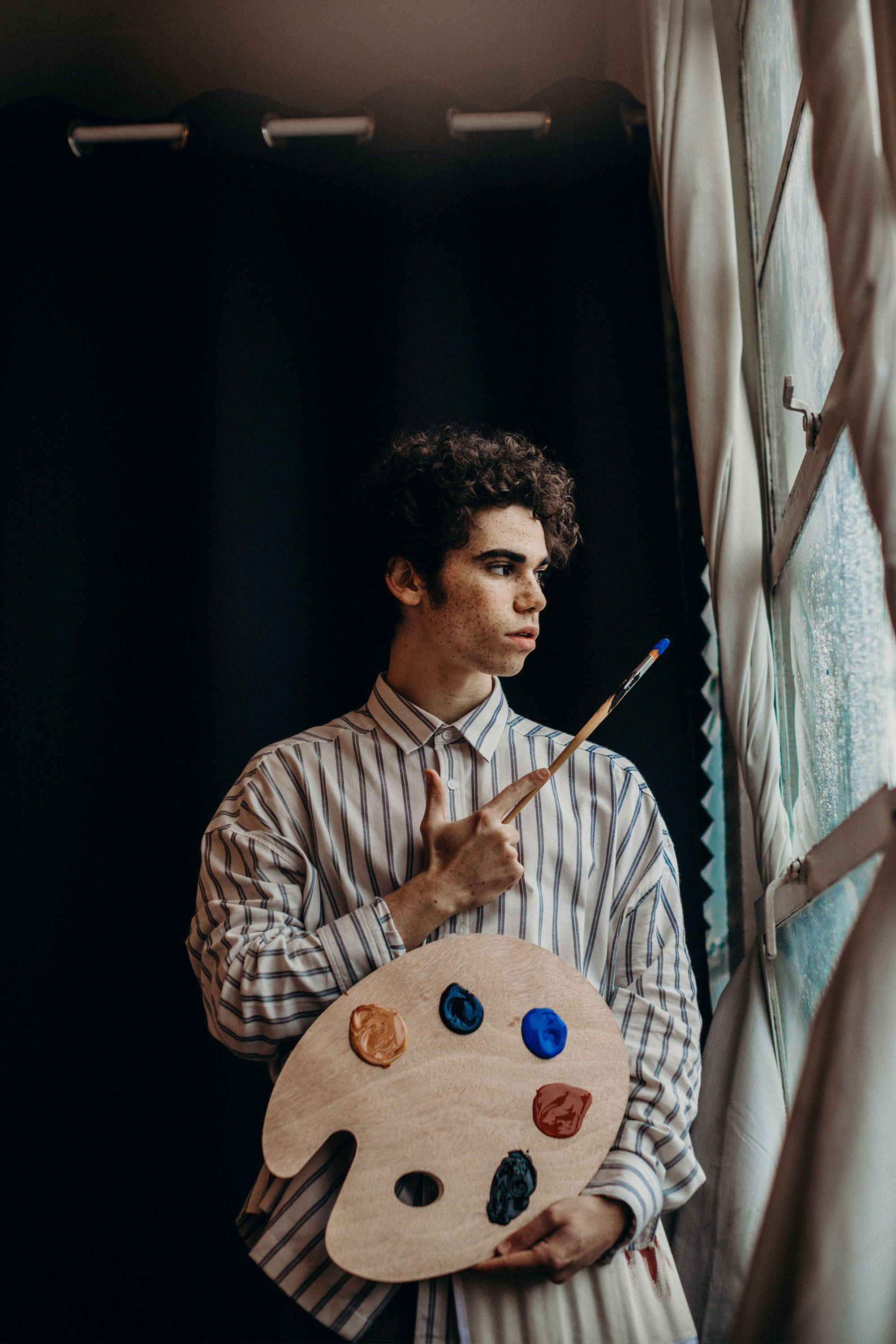 Cameron Boyce's Final Project Asks Us To Wield Peace, Not Guns #cameronboyce