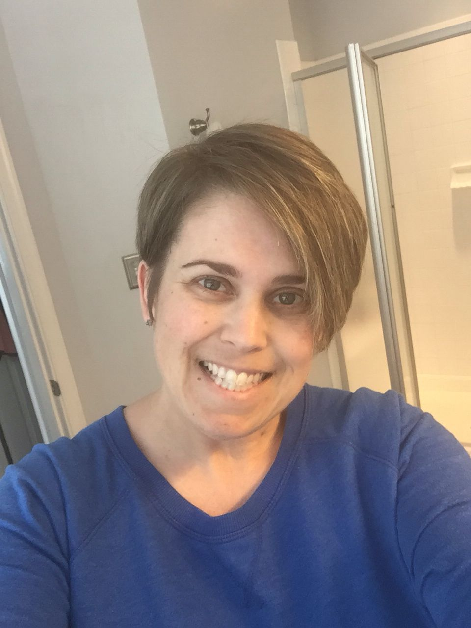 My New Pixie Style Hair Cut Love It And So Easy To Fix Short