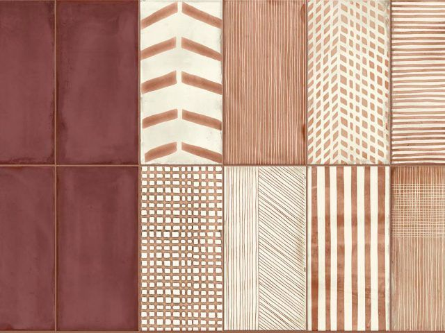 Infinity Terracotta Look Wall Tile Collection Tiles