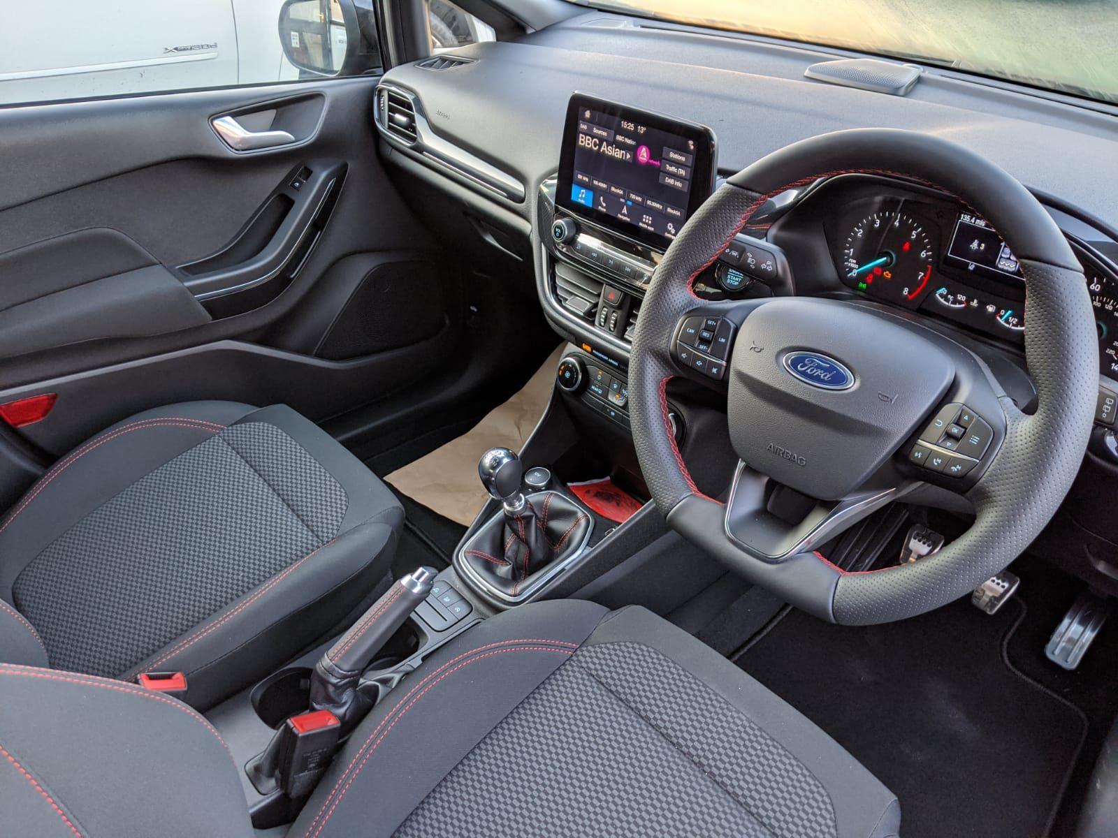 The Ford Fiesta Hatchback 1 0 Ecoboost 125 St Line Navigation 5dr