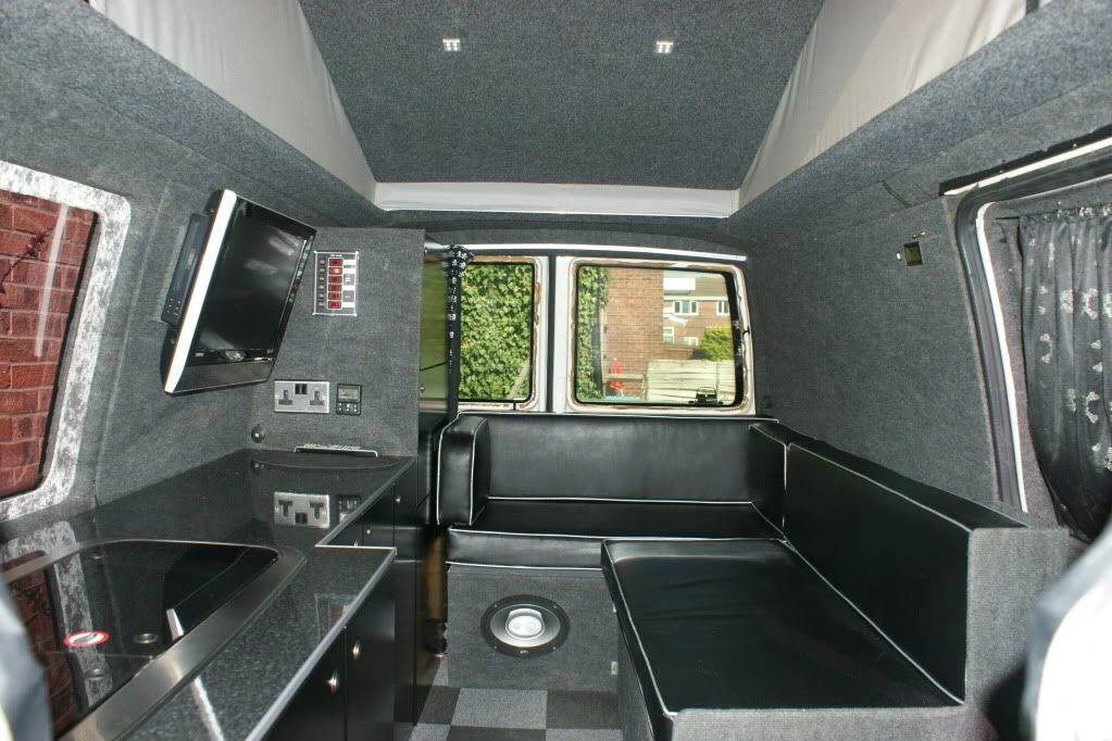 Show us your u shaped seating page 2 vw t4 forum vw for Vw t4 interior designs