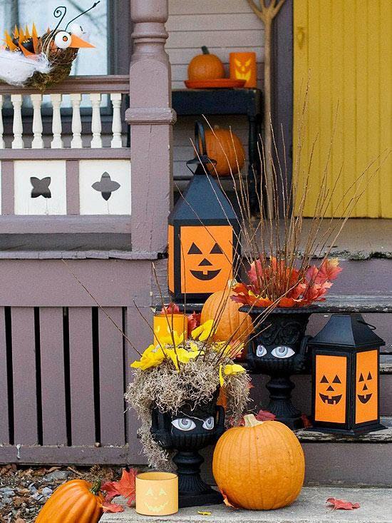 Décoration Halloween pour l\u0027entrée - 19 idées créatives Pinterest - halloween entree ideas