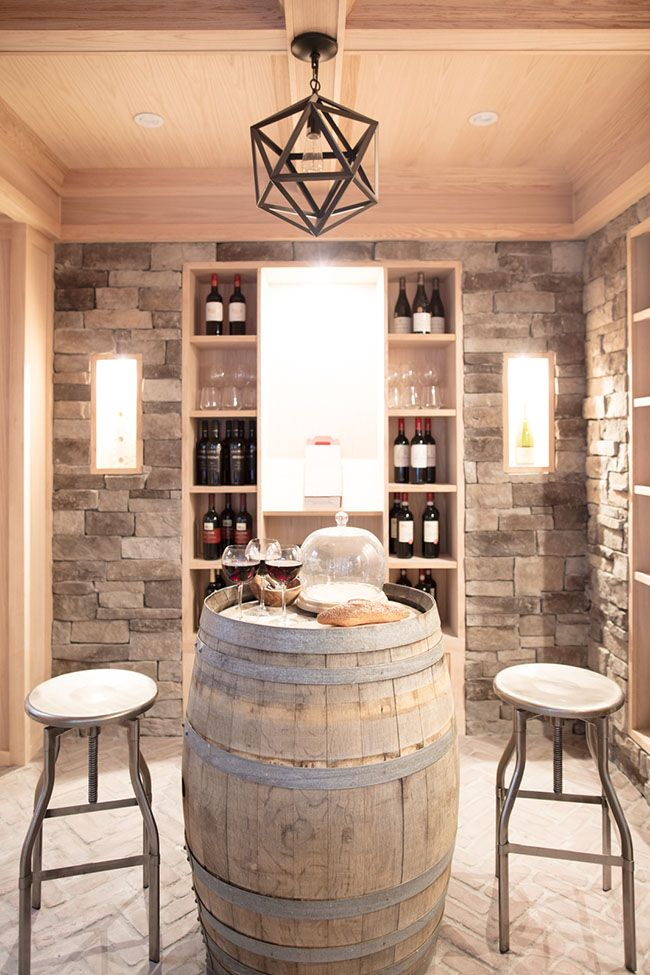 Photo of A Dream Basement Tour – Complete With Wine Cellar, Craft Room and Movie Theatre