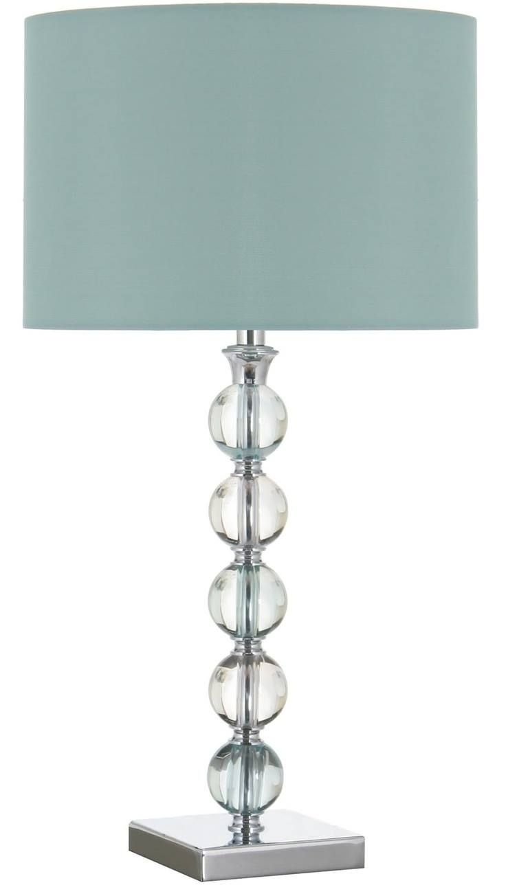Pin by maria viloria on home ideas pinterest fashion bedroom table lamp with duck egg blue shade hard to find this color lampshade but could do this shade with a white lampshade and fabric spray paint from craft aloadofball Images