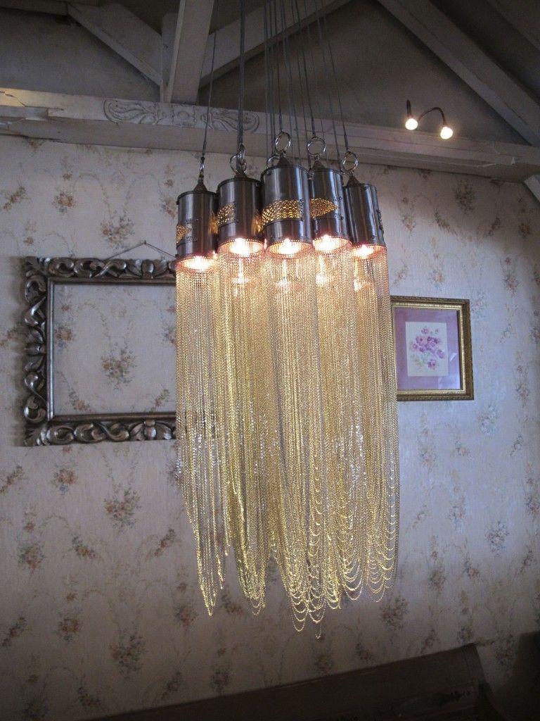 Stunning Hanging Lights at Cafe Bali on HandsomeCitizens.com  #Seminyak, #InteriorStyling