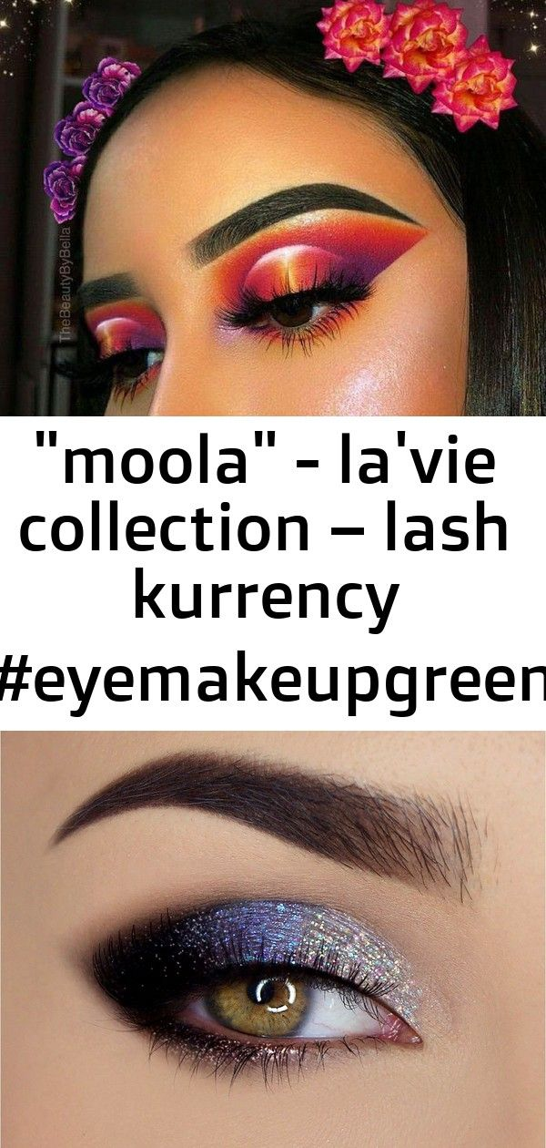 moola - la'vie collection – lash kurrency #eyemakeupgreen 1 #glittereyeliner