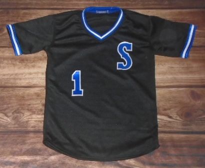Take a look at this custom jersey designed by Grapevine Stampede Baseball and created at Kelley Athletics in Irving, TX! http://www.garbathletics.com/blog/stampede-baseball-custom-jersey/ Create your own custom uniforms at www.garbathletics.com!