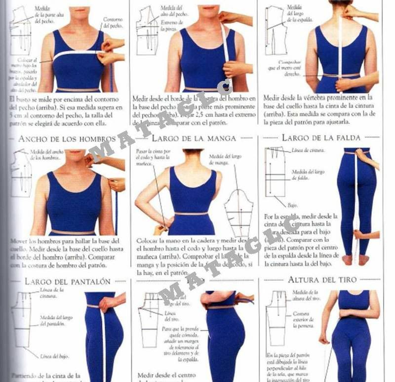 Curso Ilustrado de Costura Paso a Paso | patrones | Costura ...