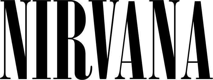 Nirvana Font Pesquisa Google Nirvana Logo Nirvana Font Classic Artwork