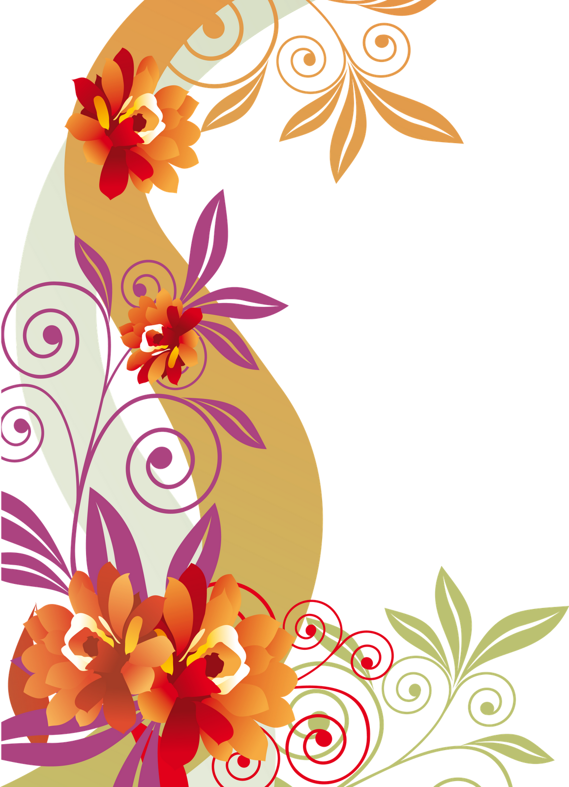 png colorfulflower flowers swirls http