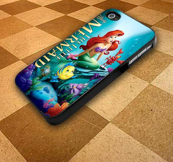 Disney Ariel The Little Mermaid For iphone 4/4s,iphone 5/5S/5C ...