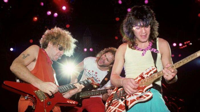 Eddie Van Halen and Sammy Hagar at Cabo Wabo