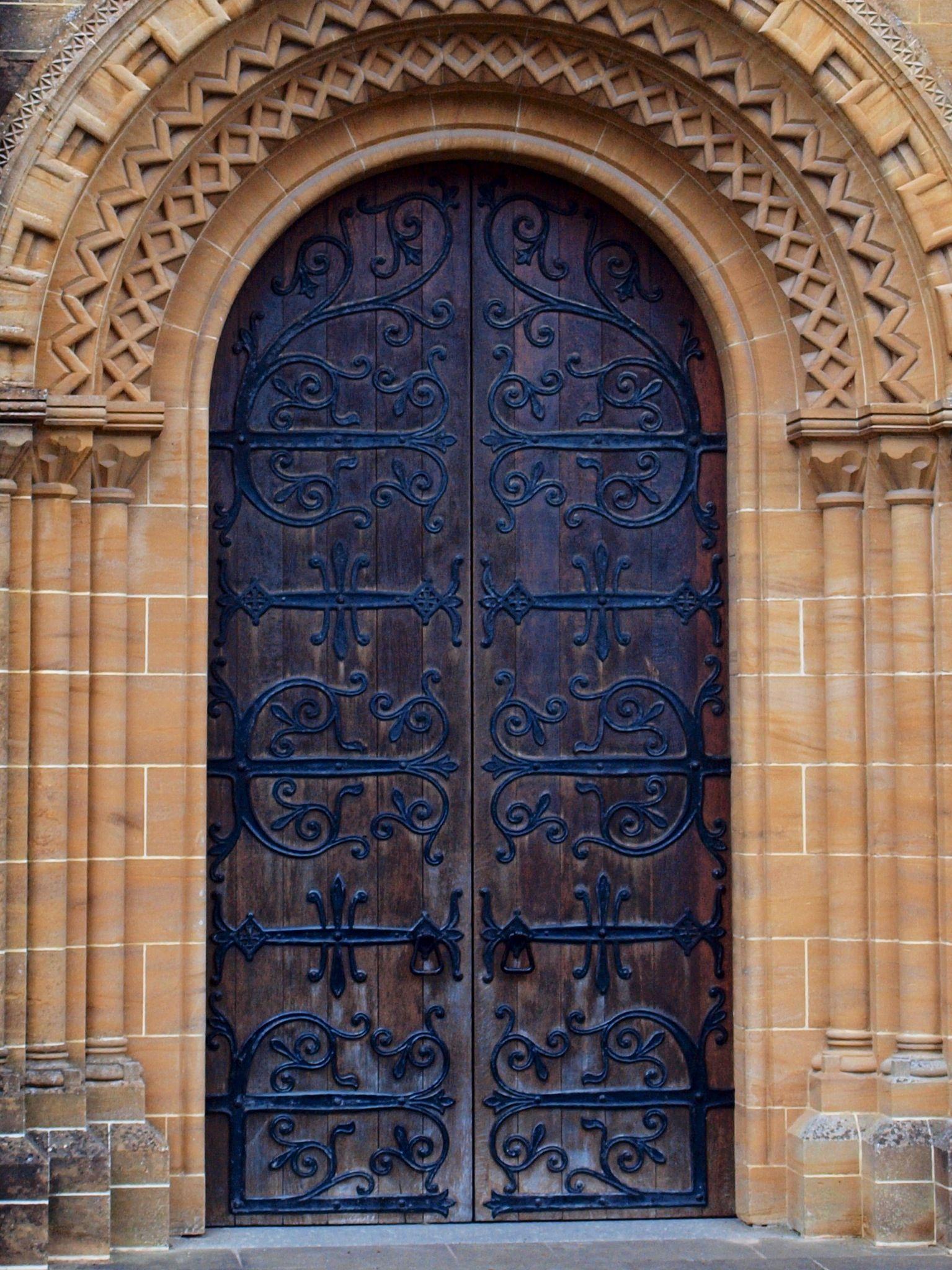 Buckfast Abbey main door & Buckfast Abbey main door | Ornate door hardware | Pinterest | Main door