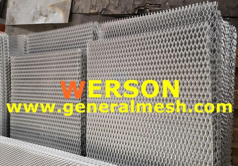Specification Color Silver Material Aluminium Size 52 X12 130 30cm Mesh Size 8mm 16mm 0 32 0 64 Style Diamond St Aluminium Custom Grill Silver Car
