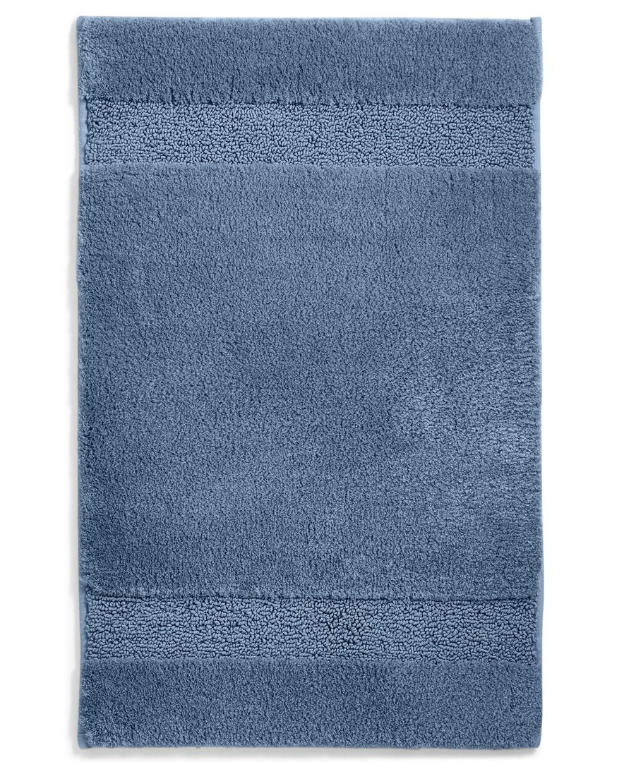 "Martha Stewart Collection Spa 17"" x 25.5"" Cotton Bath Rug, Only at Macy's"