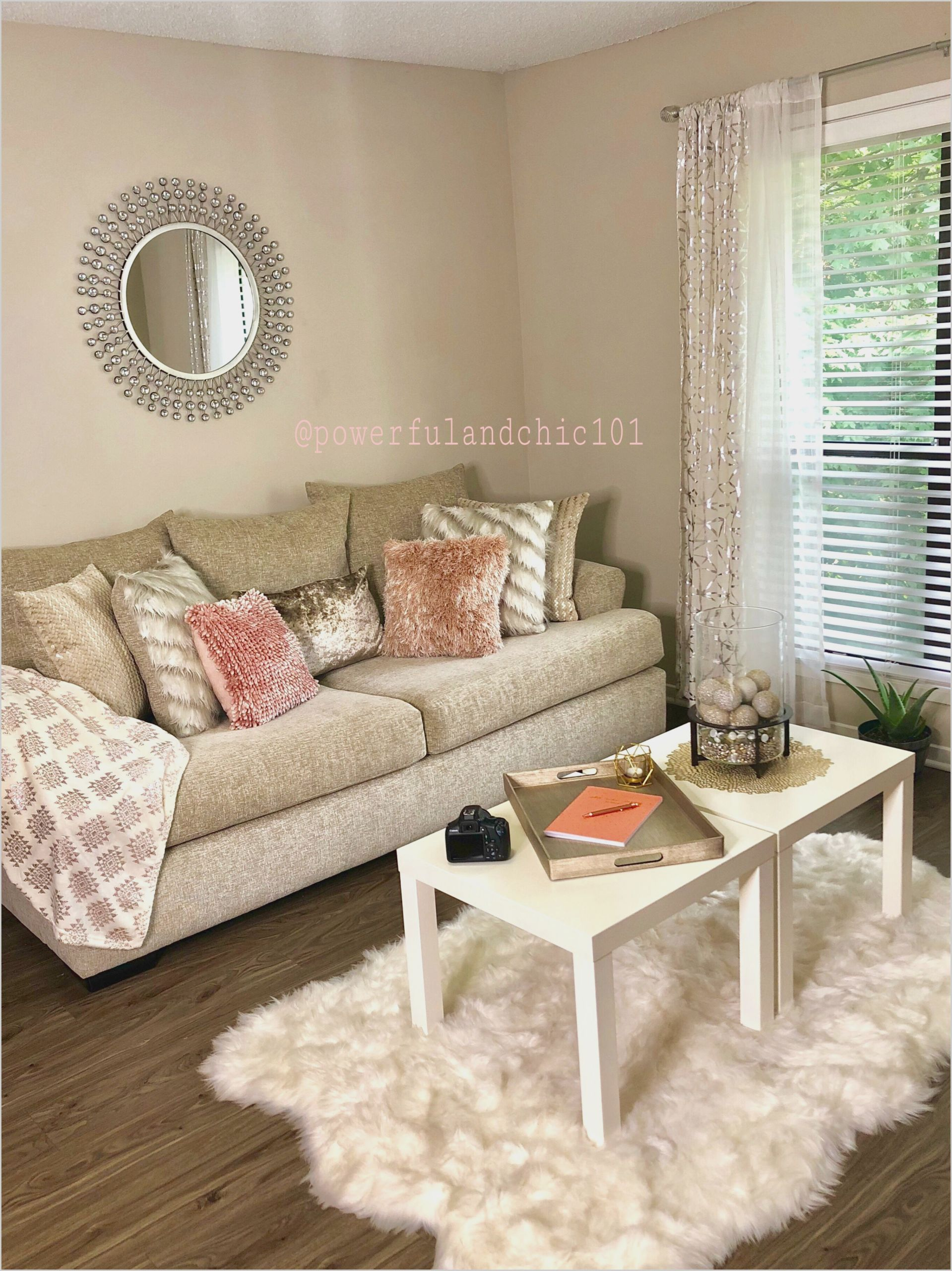 Grey and Pink Living Room Decor | Gold living room decor ...