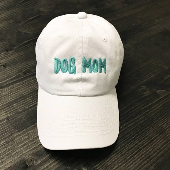 463e3021c19 Dog mom hat Dad hat Embroidered hat Embroidered dad hat