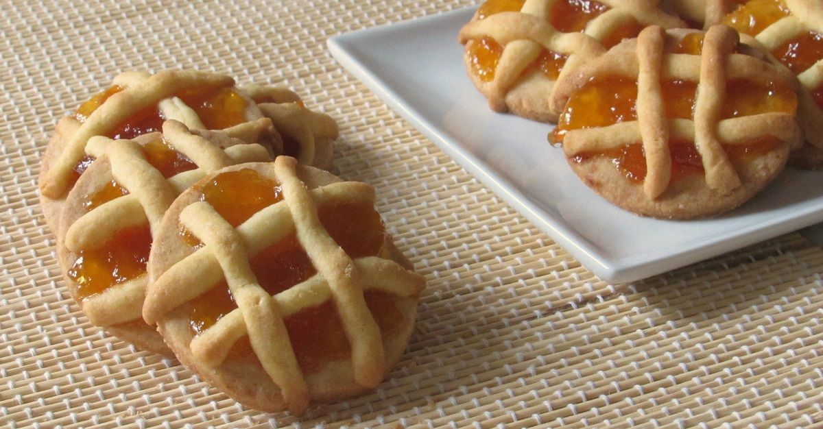 Biscotti crostatine, ricetta semplice Ricette, Ricette