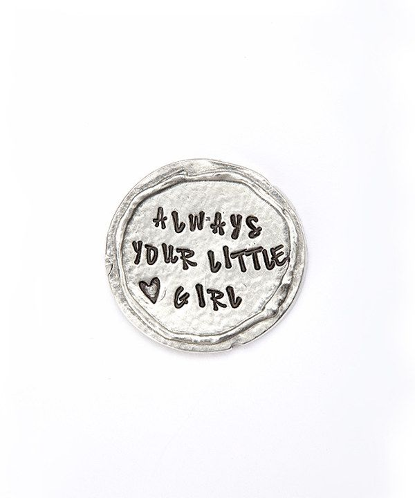 Another great find on zulily Silver Pocket Token by Bliss