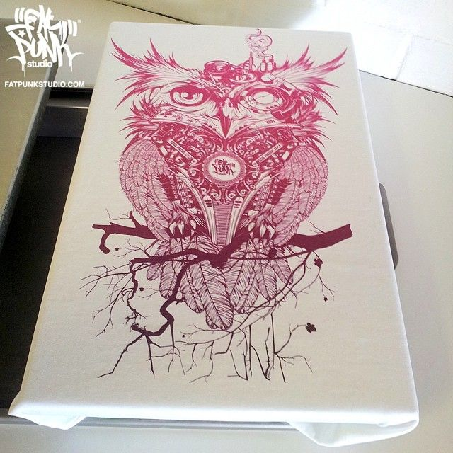 "by fatpunkstudio Gorgeous ""Owl"" vest top heading out to the lovely @candy_valentina #fashion #fashionista #igfashion #instafashion #fashionable #clothing #clothingbrand #owl #nature #streetwear #print #graphic #dope #sick #clothingline #apparel #purple #womensfashion #owls #pink #gorgeous #picoftheday #illustration #art #artwork #instaart #design #beautiful #top #wow"