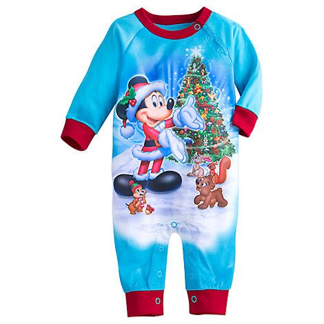 Santa Mickey Mouse And Friends Romper For Baby Clothes For Sister