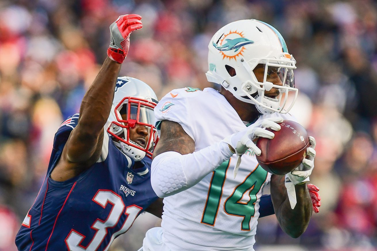 Nfl Turning Point Patriots Head Coach Bill Belichick Wanted To Erase Dolphins Wr Jarvis Landry Cheap Sports Cars Patriots Dolphins