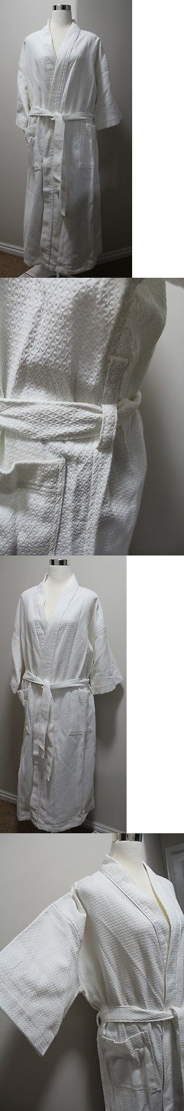 Sleepwear and Robes 166697: New Connoisseur Waffle Weave Bath Robe ...