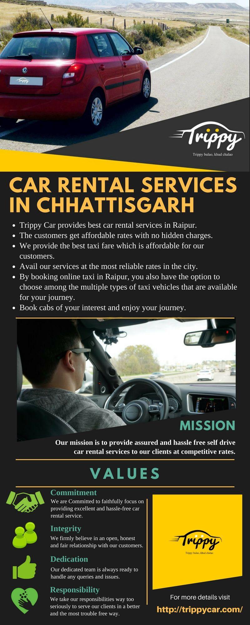 Car Rental Services In Chhattisgarh Booking Services For Local Car