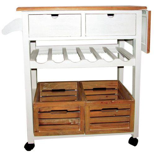 Küchenwagen Landhausstil kücheninsel provence küchenwagen einrichten und wohnen und rund
