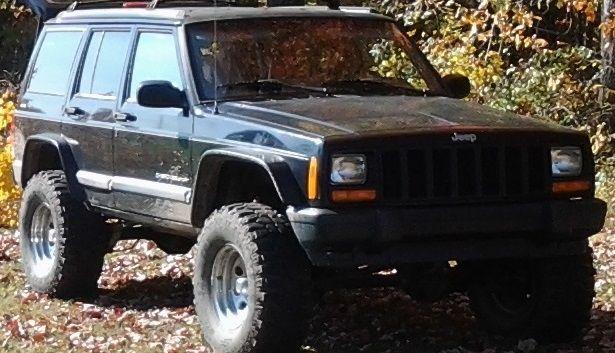 V2 Jeep Cherokee Xj Heavy Duty Flat Fender Flares Fender Flares Jeep Cherokee Xj Jeep