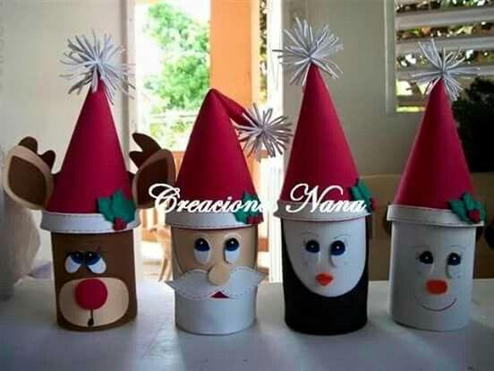 Adornos de navidad manualidades reciclados
