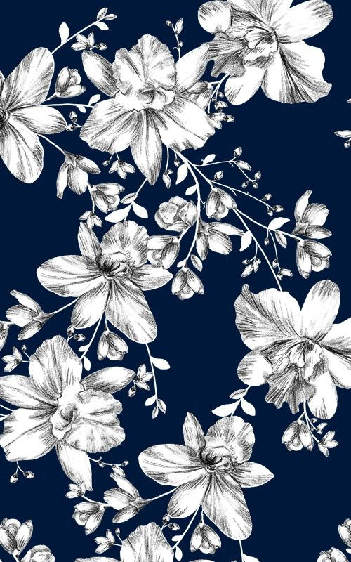 Flower Patterns For Spring Flower Wallpaper Pattern Wallpaper Prints Floral print wallpaper for walls