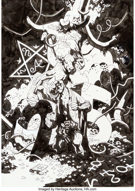 Dark Horse Hellboy Animated Buste