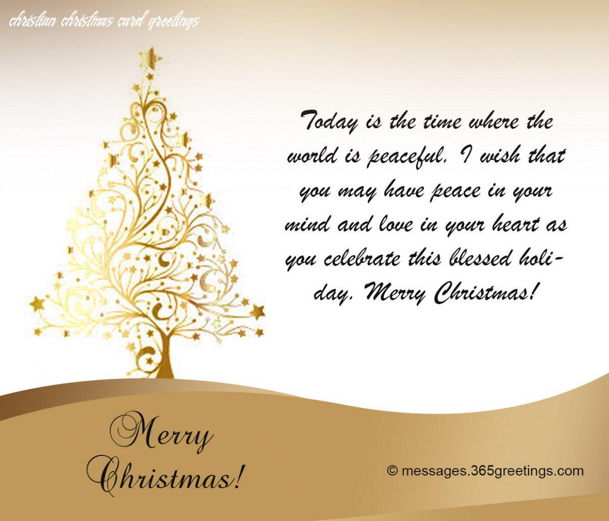 10 Christian Christmas Card Greetings in 2020 | Christmas card