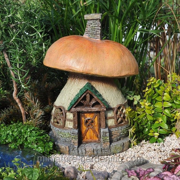 Mushroom Cottage | Where To Buy Miniature And Fairy Garden Houses U2013 Part I  | Lush