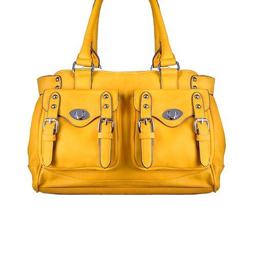 Lana Double Pocket Shoulder Bag