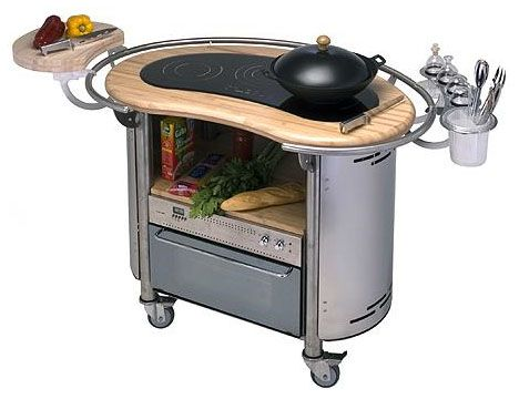 Portable Cooking Appliances Mobile Kitchen Stations