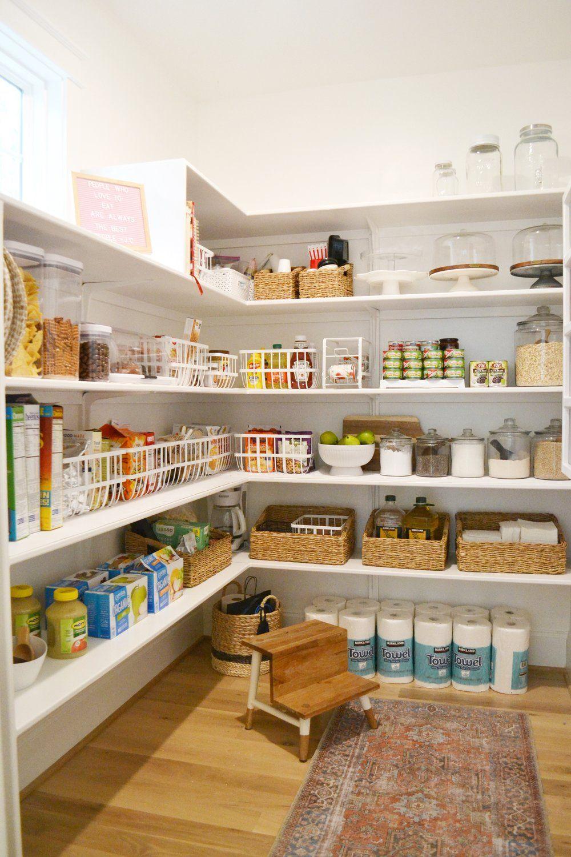 Our Walk In Pantry Organization Kitchen Drawers Walk In Pantry Kitchen Pantry Design Pantry Design