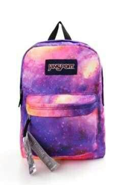 823ff4642ec4 Pink and purple galaxy Jansport. Pink and purple galaxy Jansport Puppy  Backpack