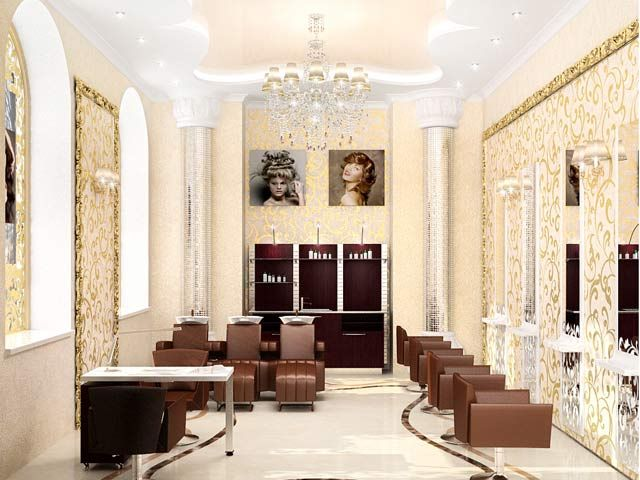 17 best images about salon ideas on pinterest waiting area stylists and salon design - Beauty Salon Interior Design Ideas