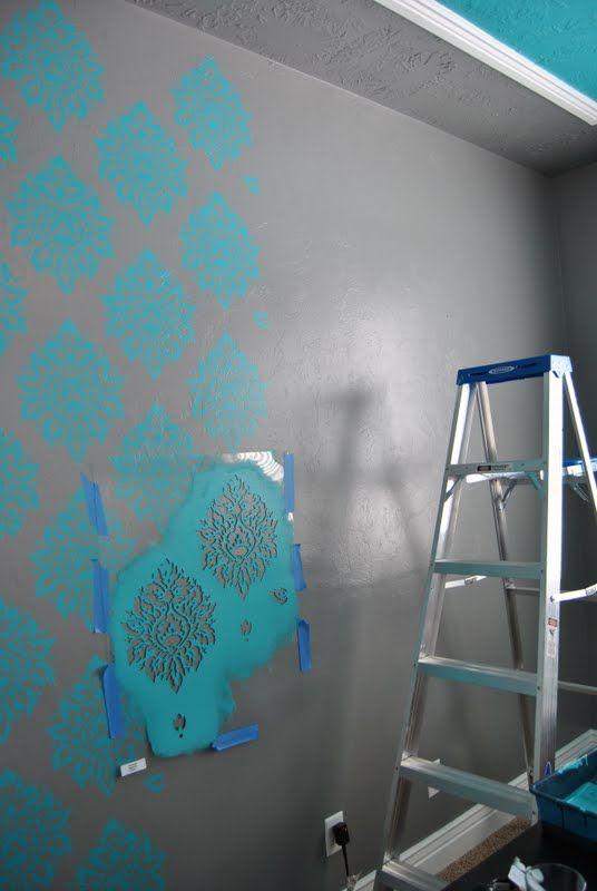 Children S Party Box Wall Art For Girl S Bedroom: MASTER BEDROOM RECAP DAY 1: PAINT PAINT PAINT!