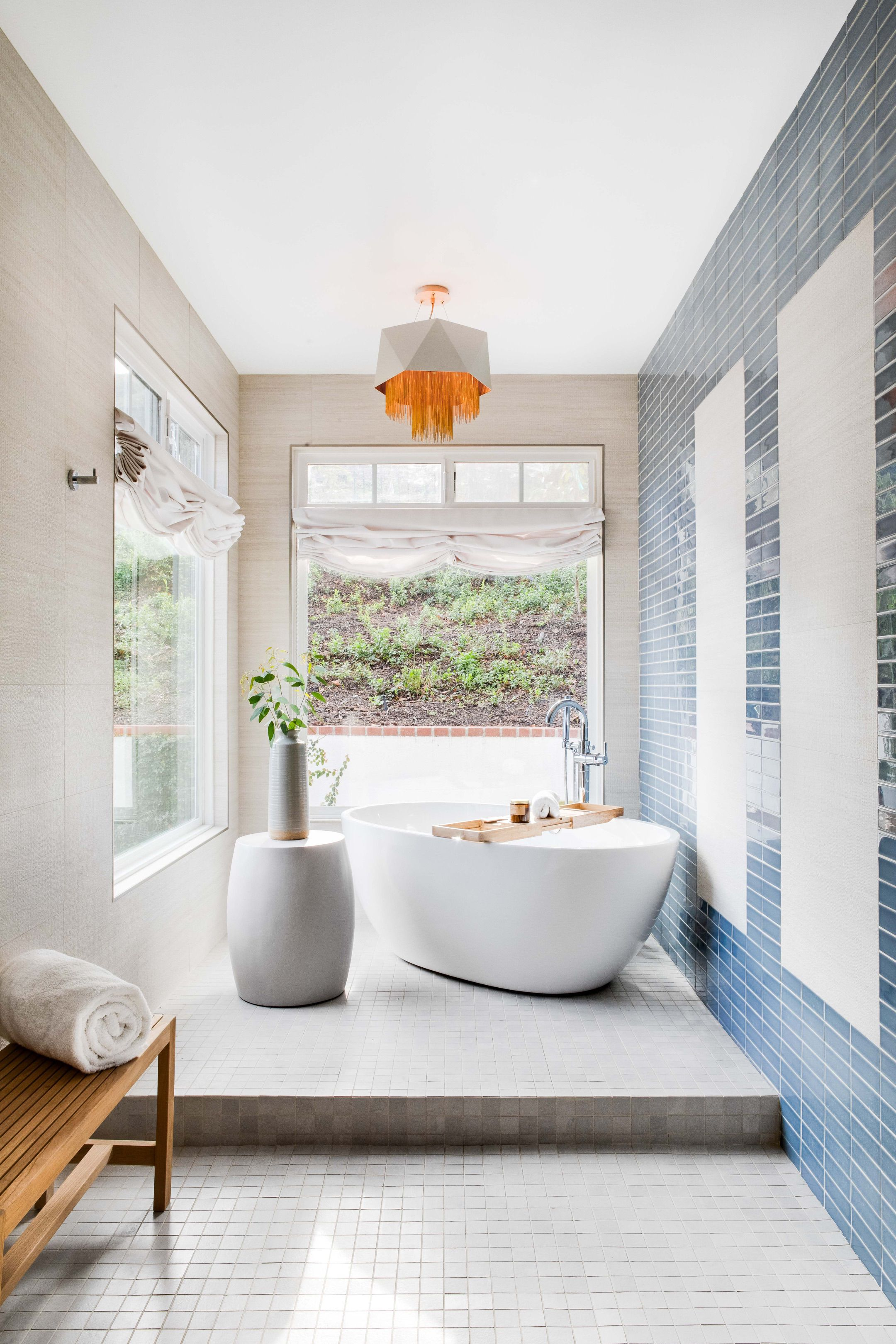 This Might Be The Most Relaxing Bathroom We Ve Ever Seen The Blue