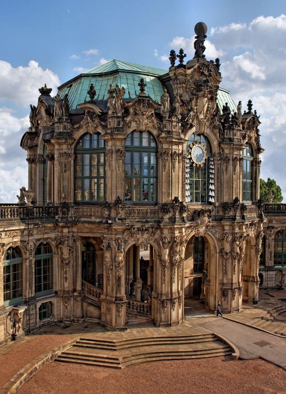 Glockenspielpavillon Dresdner Zwinger Iconic Landmarks Architecture Building