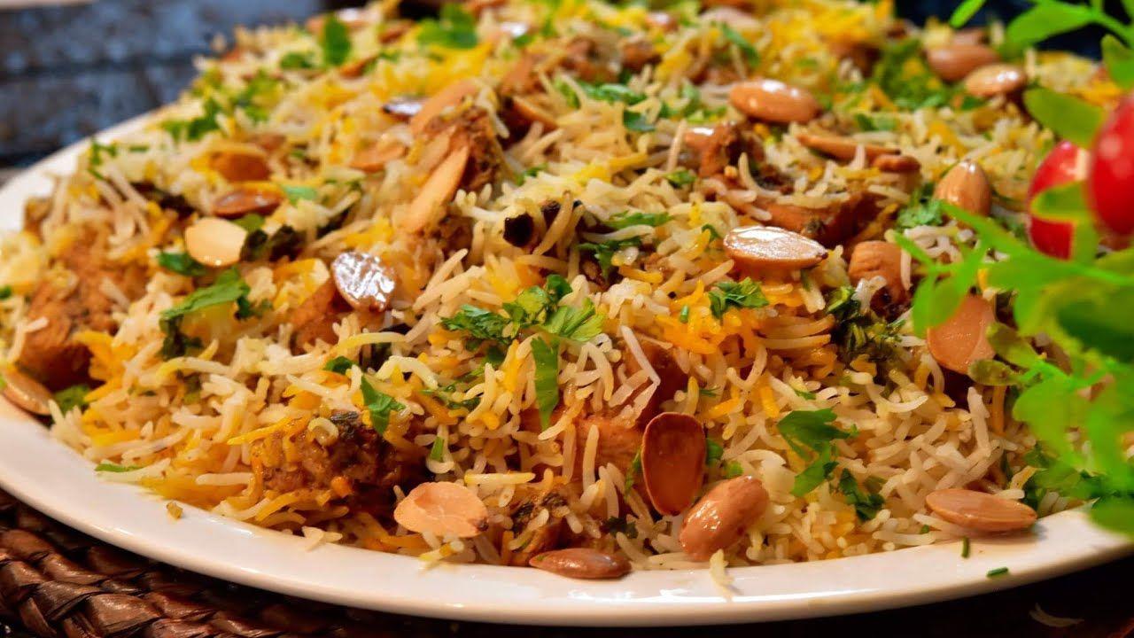 برياني هندي بطريقه مميزه اكتر من فخامه تابعوها من أطيب الوصفات برياني على طريقة حيدر اباد Youtube Middle Eastern Recipes Cooking Amazing Food Art