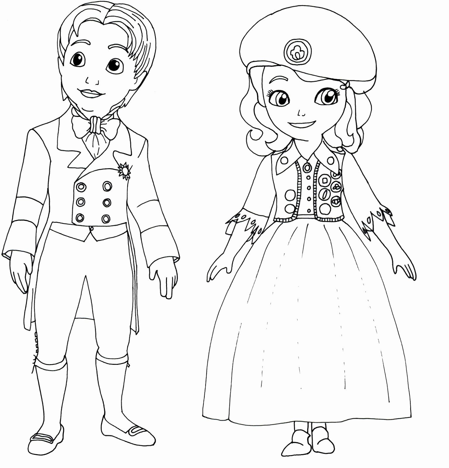 Sofia the First Coloring Page Inspirational top 10 Disney ...