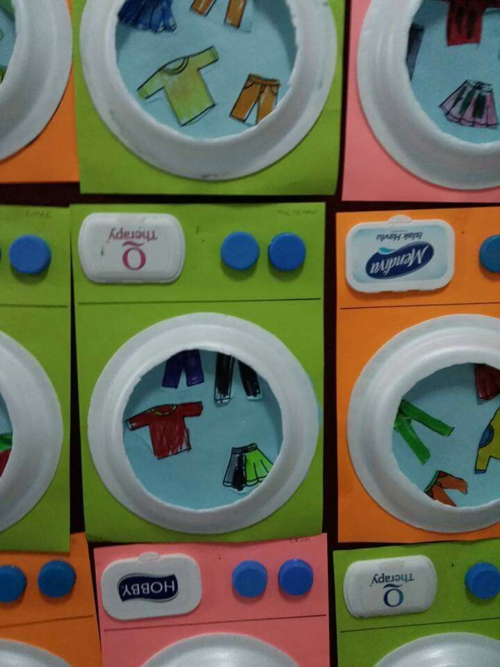 çamaşır Makinası Boyama Ve Resim Transferi 10marifetorg